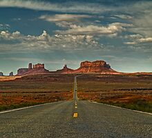 Monument Valley by Paul Barnett