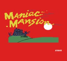 Maniac Mansion C64 by antdragonist