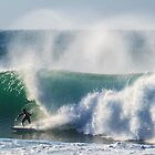 Warriewood beach Surf (4/7/12) by Doug Cliff