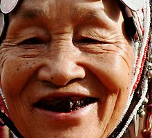 Thailand Hill Tribe Woman  by KelseyGallery