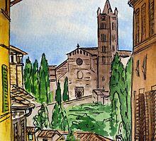 Siena Italy by Irina Sztukowski