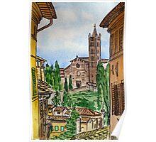 Siena Italy Poster