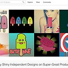 4 July 2012 by The RedBubble Homepage