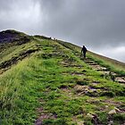 Climbing Mam Tor by Darren Burroughs