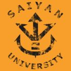 Saiyan University - Black version by karlangas