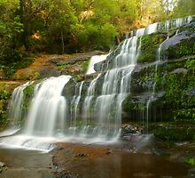 Liffey Falls .. a different angle by Michael Matthews