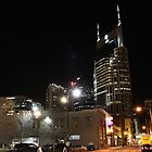 Nashville at Night by Terry  Berman
