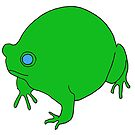 Fat Frog by jamface