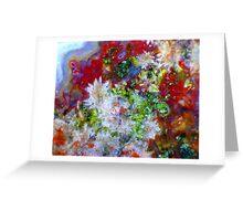 Crystal Spray Greeting Card