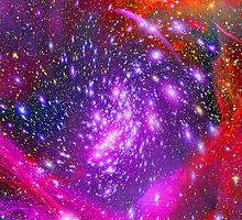 Vibrant Starfield by Ged J