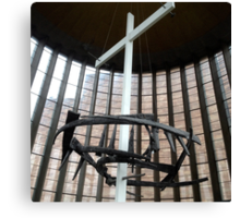 Crown of nails, Coventry Cathedral Canvas Print