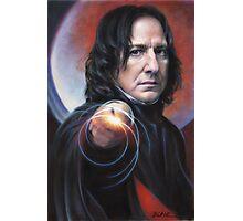 Defense Against the Dark Arts, Professor Snape Photographic Print