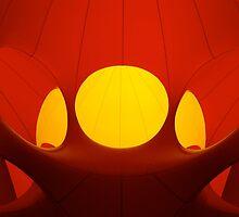 Inside the Luminarium 13 by Robert Steadman