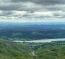 Coniston Water Panorama..Views Of Three Counties by VoluntaryRanger