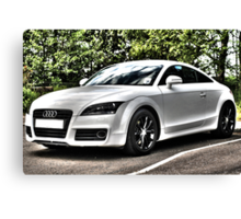 Audi HDR Canvas Print