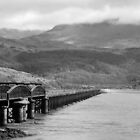 Barmouth Bridge by George Langridge