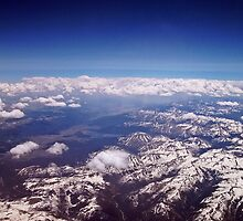 Above The Rockies by David Dehner
