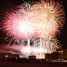 Algerian Independence Day Fireworks III by Omar Dakhane