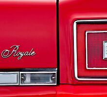Oldsmobile Royale Taillight Emblem by Jill Reger
