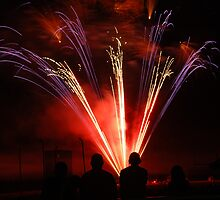 Fireworks - 7/4/12 by Vonnie Murfin
