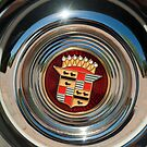 1947 Cadillac Wheel Emblem by Jill Reger