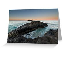 """The Giant's Causeway"" ∞ Fingal Head, NSW - Australia Greeting Card"