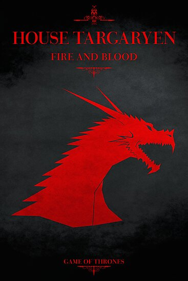 House Targaryen - Game of Thrones by guillaume bachelier