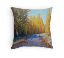 Road To Tarana Throw Pillow