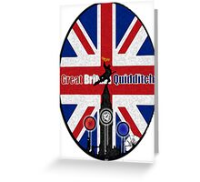 Great Britain Quidditch Greeting Card