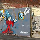 Mickey Mouse Graffiti by KUJO-Photo