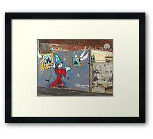 Mickey Mouse Graffiti Framed Print