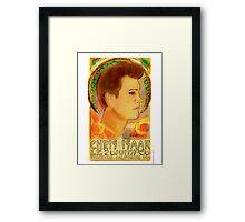 """""""Chris Isaak, June 26, 1956"""" Framed Print"""
