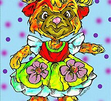 honey bear by Renata Lombard