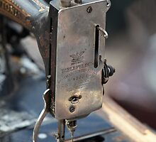 Old sewing machine by mrivserg