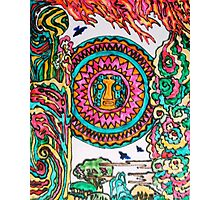 Viracocha and the Elements Photographic Print