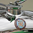 1928 Vauxhall 20-60 Hurlingham Speedster Hood Ornament by Jill Reger