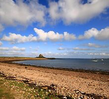 Lindisfarne Castle View by Paul Bettison