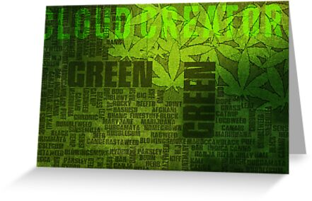Name my weed? -Cloud Creator. by LewisJamesMuzzy