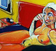 Le femme bureau by VarryNiven