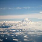 Southern Washington State on a Beautiful Day by Maurine Huang