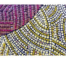 MOSAIC - NOW AVAILABLE IN THROW PILLOWS Photographic Print