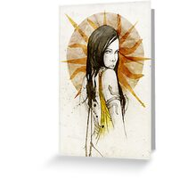 Arianne Martell Greeting Card