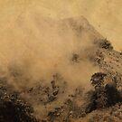 Sri Lankan Misty Peaks. Chinese Painting Style by JennyRainbow
