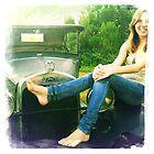 Car girl by zamix