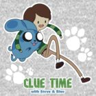 Clue Time with Steve &amp; Blue by JimHiro