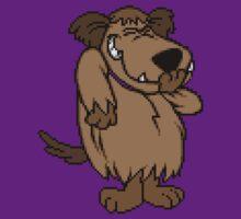 8-Bit Mutley by loogyhead