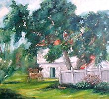 Artist's Backyard by Monica Vanzant