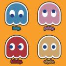 It's Inky & Pinky & Blinky & Clyde! by DesignGuru