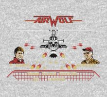 Pixel Airwolf Kids Clothes