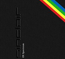 Classic Sinclair ZX Spectrum by SixPixeldesign